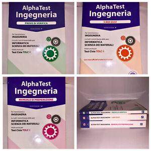 Alpha Test Ingegneria Tolc-I. Nessun esercizio svolto, in eccellenti condizioni