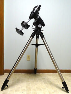 Orion Sky View Pro EQ Mount with Polar Alignment Scope  & Tripod + Carrying Bag