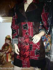 """NOEL 2014 : manteau Save the Queen modèle """"GEOMETRIE"""" neuf, étiqueté valeur 580€"""