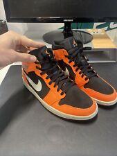 Nike Jordan 1 Mid Orange / Us 11 /45cm