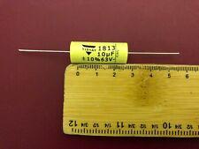 Vishay MKT-1813 film foil capacitors axial polyester 10uF 63V 10% UK Seller