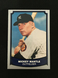 MICKEY MANTLE LEGENDS 1988 PACIFIC NEW YORK YANKEES BASEBALL CARD