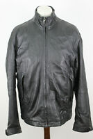 MARC O'Polo Blakc Leather Jacket size 54