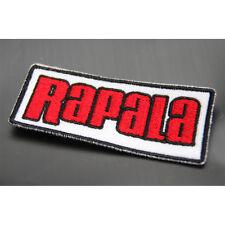 New Rapala Fishing Logo Patch Emblem Clothes Cap Badge 7.5cm #J1