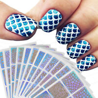 12 Sheets Nail Art Manicure Stencil Stickers Stamping Nail Vinyls Easy Use