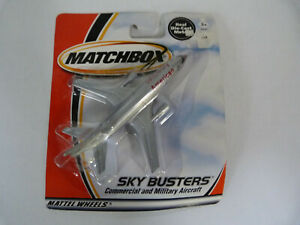 MATCHBOX SKYBUSTERS AMERICAN AIRWAYS DC-10 NEW ON CARD BLISTER PACK