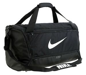Nike Brasilia Duffel Medium Bags Running Black Casual Fashion GYM Bag BA5955-010