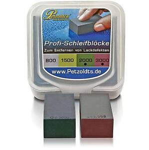 Petzoldt's Nass-Schleifblock Set; #2000 & #3000; entf. hochstehende Lackdefekte