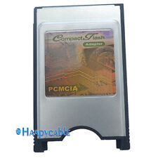 New PCMCIA Compact Flash Disk Memory Card Reader Converter Adapter to PC Laptop