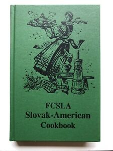 NEW Slovak American Cookbook 26th Print Czech Hungarian Polish Vintage Recipes