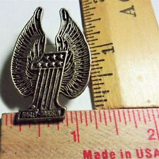 """/""""pin lock/"""" biker vest pinback keeper guard holder /""""never lose another/"""" no tool"""