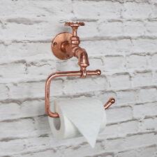 rame metallo Rotolo di carta igienica PORTAFAZZOLETTINI rétro INDUSTRIALE