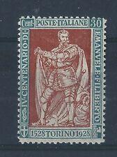 FRANCOBOLLI 1928 REGNO E. FILIBERTO 30 CENTESIMI INTEGRO MNH B/8215