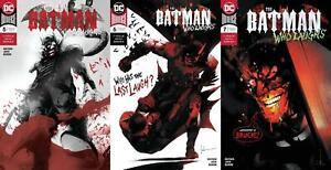 Batman Who Laughs (#5, #6, #7, 2019)