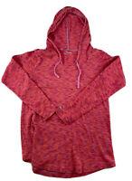 Columbia Women's S Zip Fleece Pullover Hoodie Sweater Pink Long Sleeve