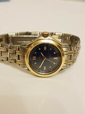 Ladies Omega Seamaster 120m Stainless Steel & Gold watch
