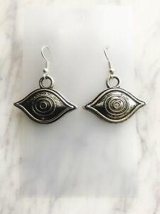 Evil Eye of Protection Earrings All Seeing Eye