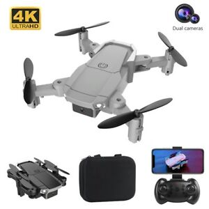Drone WIFI avec caméra grand angle haute définition 4K double caméra Pliable