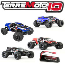 Redcat Terremoto 10 V2 (NEW*80amp, 3S LIPO BUNDLE) 4X4 Monster Truck or SUV