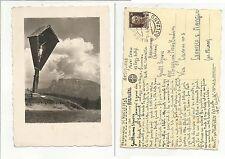 100252 ANTICA CARTOLINA LO SCILIAR DOLOMITI PHOT TONI JUNG 1943