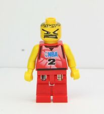 LEGO NBA Player #2 Spring Leg Minifigure Red