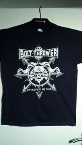 "2014 Bolt Thrower - ""Overtures Of War"" Euro Tour Shirt / Size XL / Death Metal"