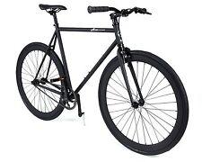Atir Cycle Single Speed Fixed Gear Road Bike Matte Black 54cm Fixie