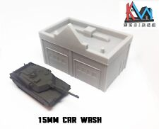 3D Printed – 15mm (1:100) Scale Car Wash