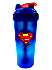 PerfectShaker SUPERMAN Blender Shaker Cup Bottle LARGE 28 oz Perfect Shaker