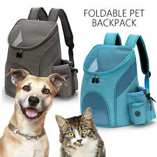 Pet Travel Backpack Bag Cat Puppy Dog Carrier Breathable Bag Cat Bag