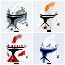 Custom CLONE TROOPER HELMET Phase 1 for  Minifigures -Pick Color!- Star Wars