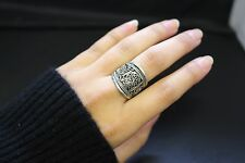 Afghan Ring Band Authentic Adjustable Ethnic Tribal