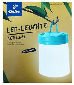 TCM Tchibo LED leuchte Lampe Campingleuchte Campinglampe