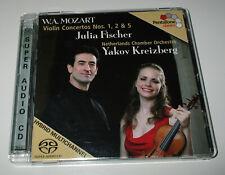 Julia Fischer - Mozart - Violin Concertos Nos 1 - 2 & 5 ( SACD ) Super Audio CD