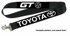 Toyota FT86 GT86 FRS BRZ JDM TRD Lanyard Keychain ID Holder