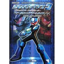 Mega Man Star Force 3 Black Ace Red Joker Official Complete Guide Book / DS