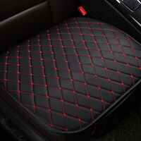 1x Black Car Interior Front Seat Cushion Breathable Protect Cover Accessories