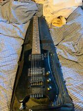 Rare Guitare Headless Cort Steinberger Space G2 avec housse assortie