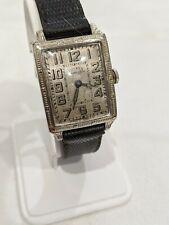 Vintage Dueber Hampden  Man O' Fashion Wrist Watch Nice Original Condition RUNS