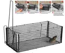2x Rat Cage Mice Rodent Animal Control Catch Bait Hamster Mouse Trap Humane Live