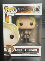 Pop! Animation. Attack on Titan- Annie Leonhart #236 Funko Pop Vinyl #RARE
