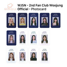 WJSN COSMIC GIRLS 2ND OFFICIAL FANCLUB UJUNG WJSN SCHOOL ID Photocard