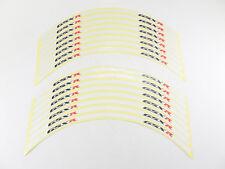 Reflective Motorcycle Rim Tape White - Suzuki GSX-R 1000 GSXR1000