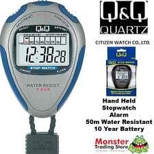 AUSTRALIAN SELLER CITIZEN MADE PRO HAND HELD STOP WATCH HS46J002 RP$79.95 WARNTY