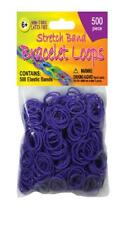 Pepperell Stretch Band Bracelet Loops - 500 Per Package