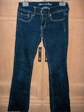 AMERICAN EAGLE OUTFITTERS Womans Super Stretch Boot Jeans, Size 4R EUC!!!
