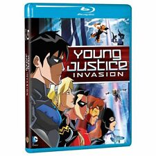 Blu Ray YOUNG JUSTICE season 2 INVASION. 2 discs. UK compatible. New sealed.