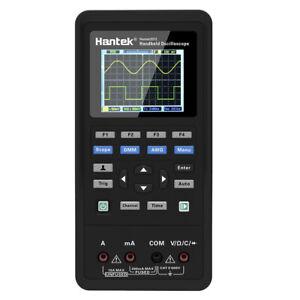 Hantek 2C72 Handheld 3in1 2CH Digital Oscilloscope Multimeter tester 70MHz DMM