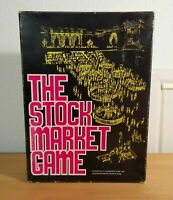 The stock market board game 1970 Avalon Hill rare vintage VGC