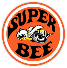 "Dodge Super Bee sticker decal 4"" x 4"""